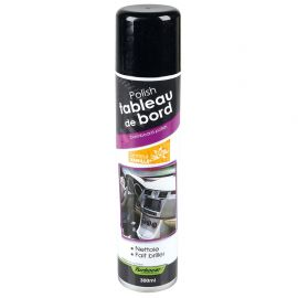 Spray polish tableau de bord senteur vanille 300ml