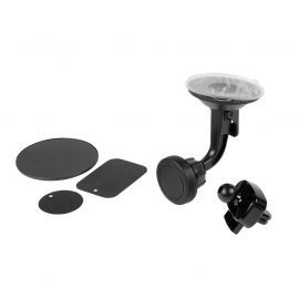 Support smartphone magnétique kit 3 positions