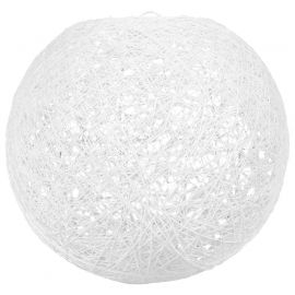 Suspension boule blanche D 20cm