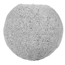 Suspension boule grise 30cm