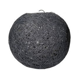 Suspension boule grise D 20cm