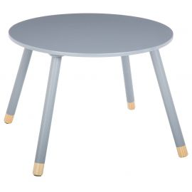 Table enfant DOUCEUR grise D 60x43cm