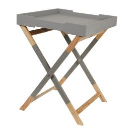 Table plateau HEDRA grise 45x59.5x45cm