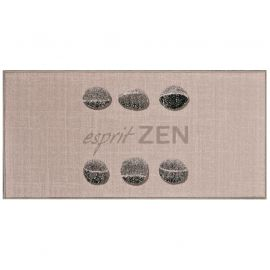 Tapis rectangle imprimé esprit zen 57x115cm