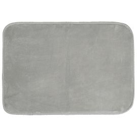 Tapis rectangle LOUNA velours gris 120x170cm