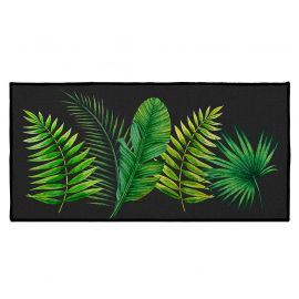Tapis rectangulaire de décoration imprimé tropical 57x115cm