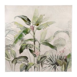 Toile peinte JUNGLE FUN 80x80cm