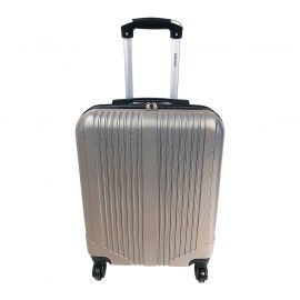 Valise low-cost rigide champagne 40x55x20cm